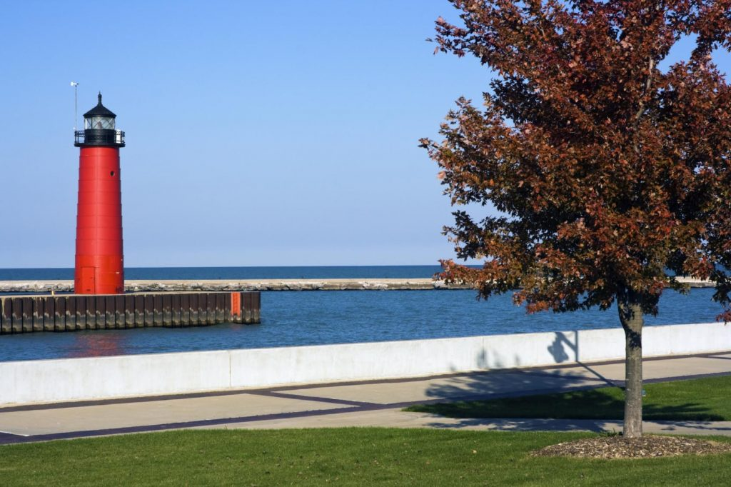 Lighthouse in Kenosha