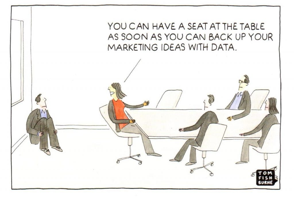 seat at the table cartoon